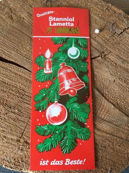 Stanniol Lametta Gold (schwer)